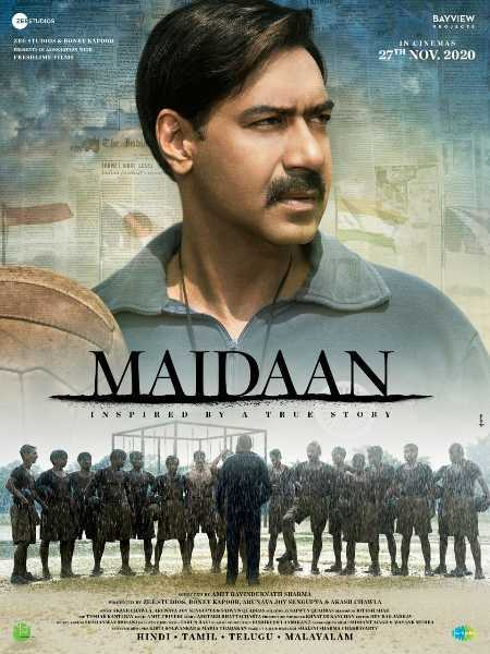 Ajay Devgn Unveiling the first look of movie Maidaa