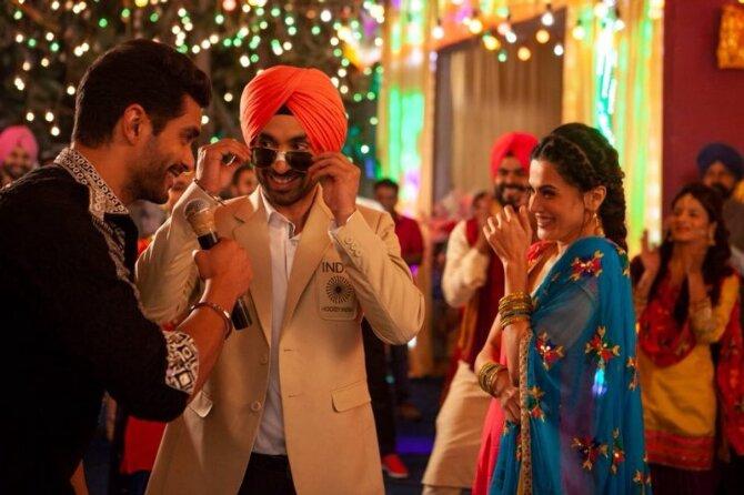Taapsee Pannu   Diljit Dosanjih Soorma Movie Song Pics  1