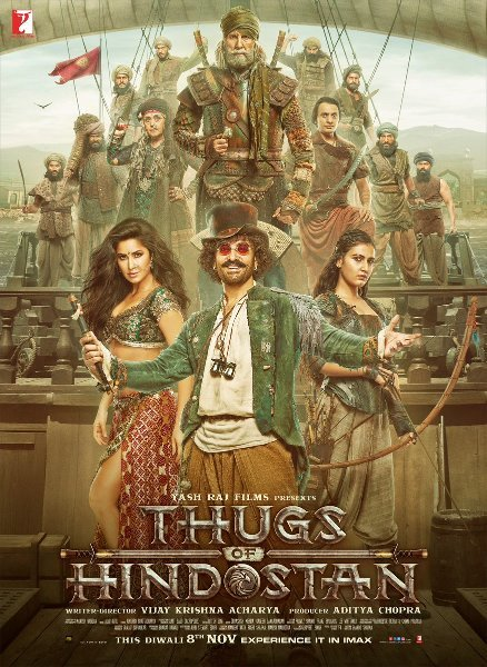 Thugs Of Hindostan Latest Poster