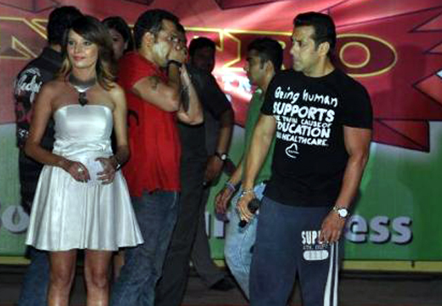 Superstar Salman Khan at the launch of fitness center NITRO Pure Fitness in Thane Photo