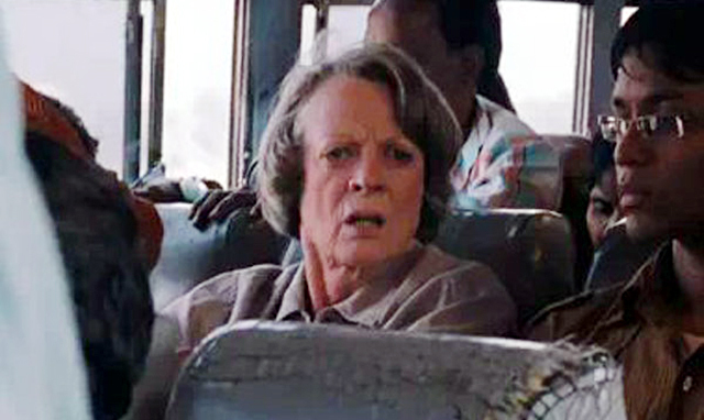 Maggie Smith The Best Exotic Marigold Hotel Movie Photo