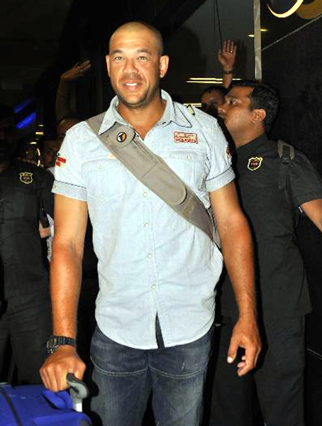 Australian Cricketer Andrew Symonds in BIGG BOSS Season 5 Photo