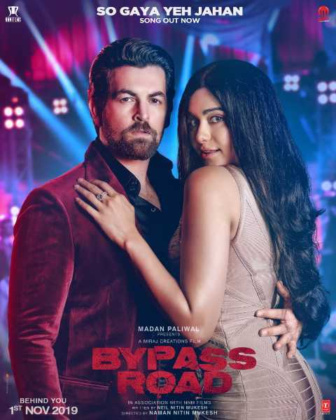 Neil Nitin Mukesh song poster of movie Bypass Road