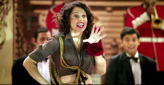 Kangana Ranaut Rangoon Movie Song Stills  5
