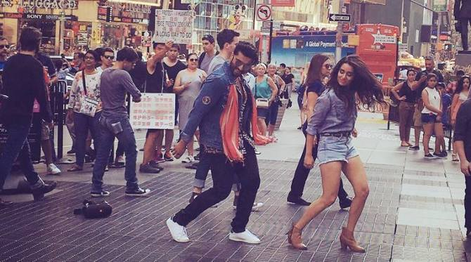 Shraddha Kapoor and Arjun Kapoor Half Girlfriend Movie First Look