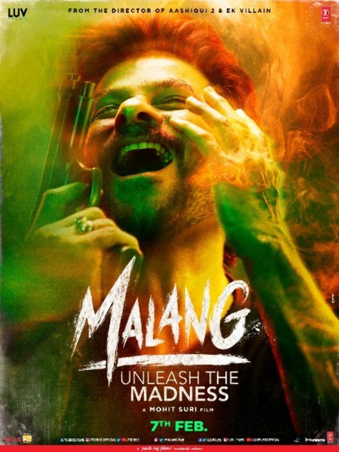 Anil Kapoor starrer Malang Movie Poster
