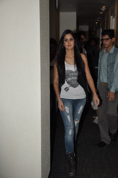 Katrina Kaif at X Factor show