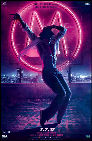 Tiger Shroff MUNNA MICHAEL Movie Poster First Look
