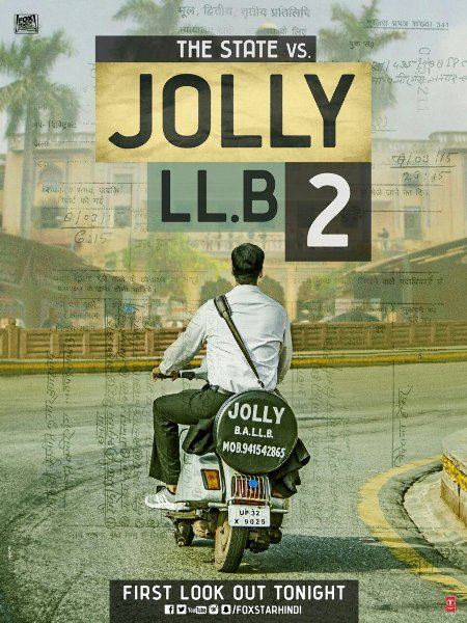 Jolly LLB 2 Movie Poster