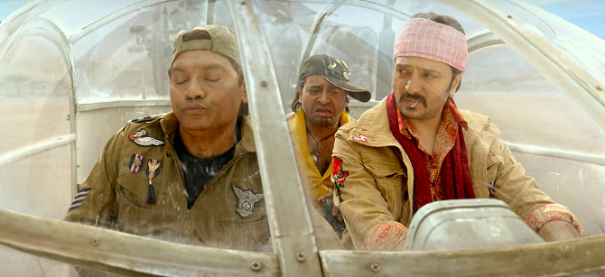 Riteish Deshmukh  Rajpal Yadav   Johnny Lever starrer Total Dhamaal Hindi Movie Photos  24