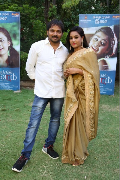 Santhoshathil Kalavaram Tamil Movie Audio Launch  7