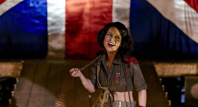 Kangana Ranaut Rangoon Movie Song Stills  3