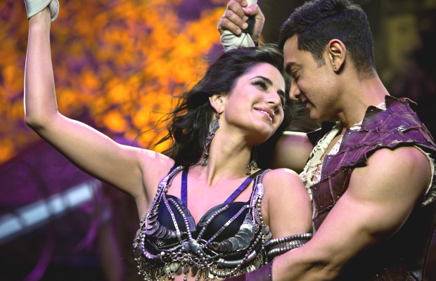 Aamir Khan and Katrina Kaif Dhoom3