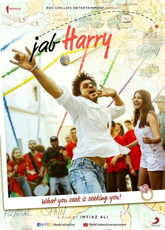 Jab Harry Met Sejal Movie Poster