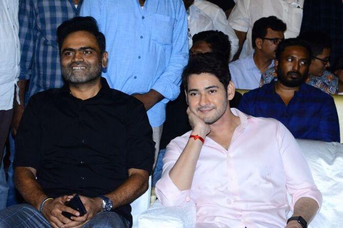 Mahesh Babu  Pooja Hedge  Allari Naresh starrer Maharshi Telugu Movie Event Pics  33