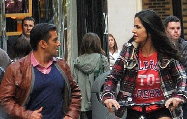 Salman Khan And Katrina Kaif In Ek Tha Tiger: Salman Khan And Katrina Kaif Ek Tha Tiger Movie Photo : Ek