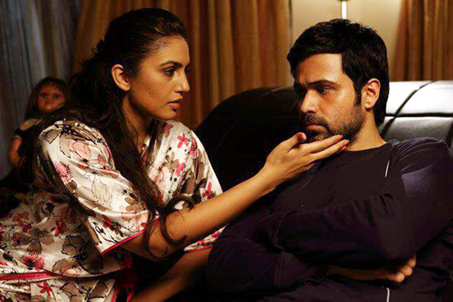 Emraan Hashmi and Huma Qureshi Ek Thi Daayan Movie Pic