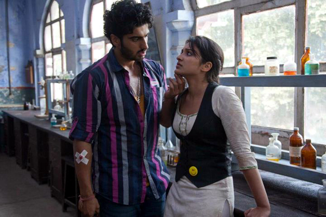 Arjun Kapoor Parineeti Chopra Ishaqzaade Movie Photo