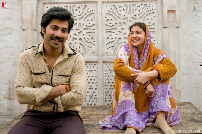 Anushka Sharma   Varun Dhawan Sui Dhaaga Movie First Look