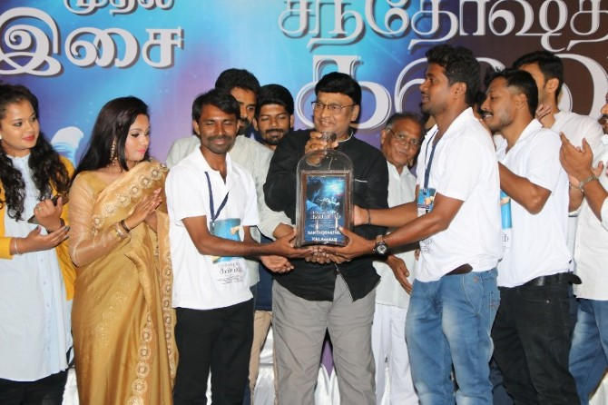Santhoshathil Kalavaram Tamil Movie Audio Launch  29