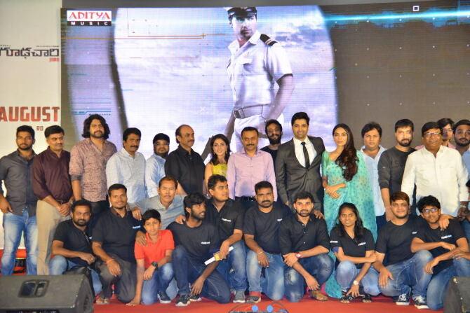Goodachari Pre Release Event Photos  55
