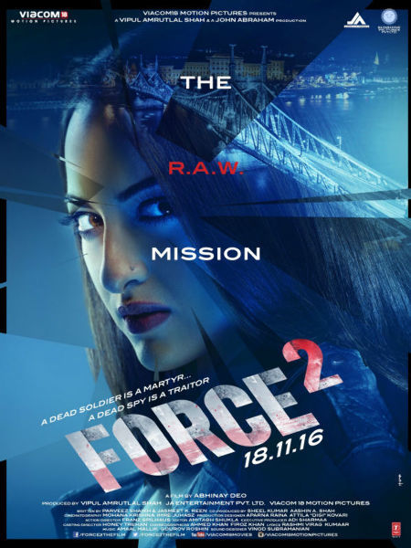 Sonakshi Sinha Force 2 Movie Poster First Look