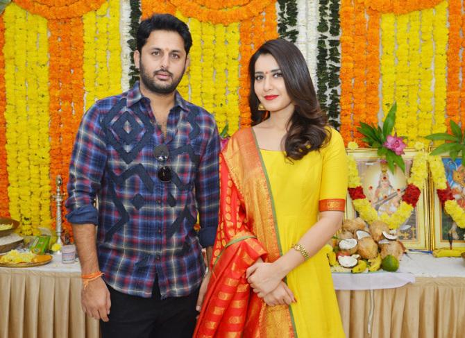 Srinivasa Kalyanam Telugu Movie Opening  1