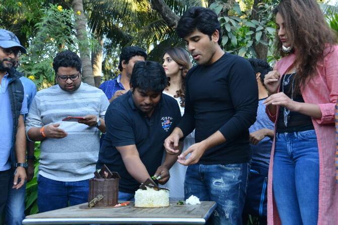 Okka Kshanam Movie Success Celebrations Stills  22