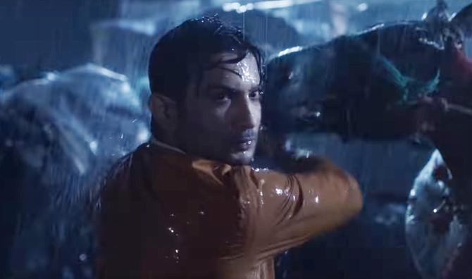 Sushant Singh Rajput starrer Kedarnath Hindi Movie Photos  18