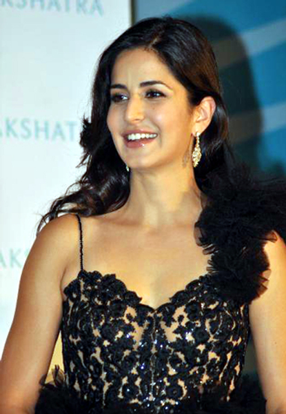 Katrina Kaif at the unveiling of the new logo brand campaign GLOW DIVINE for Nakshatra Diamonds Photo