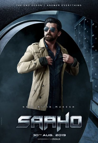 Neil Nitin Mukesh starrer SAAHO Movie Poster First Look