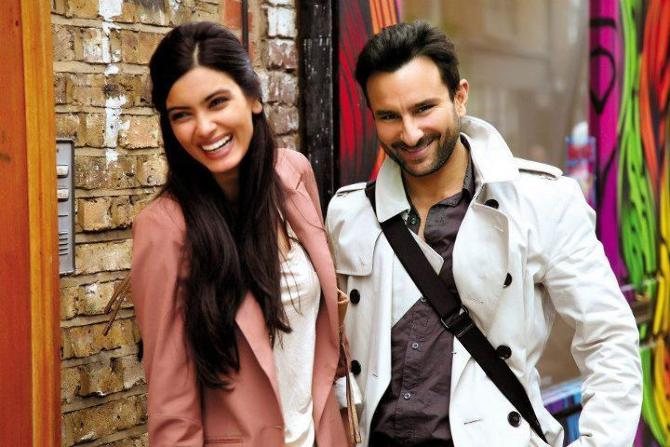 Saif Ali Khan and Diana Penty Cocktail Movie Stills
