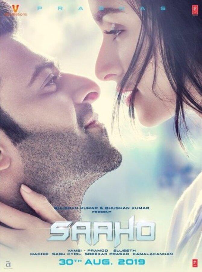 Prabhas and Shraddha Kapoor New Poster of Movie Saaho