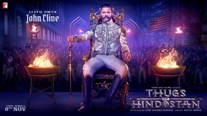Llyod Owen plays cruel and merciless villian in  Thugs of Hindostan