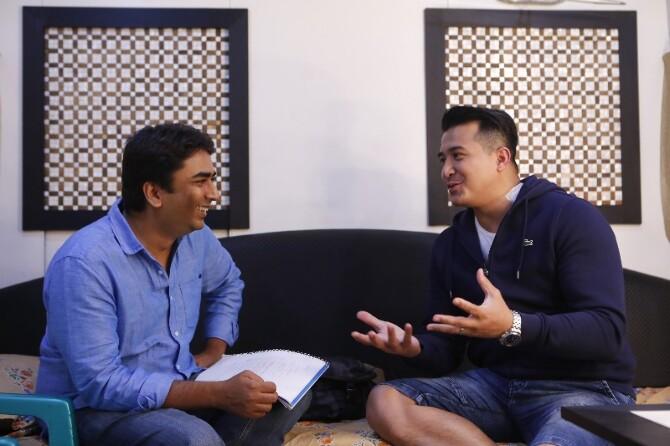 Singapore Actor Joins TIK TIK TIK Crew  1