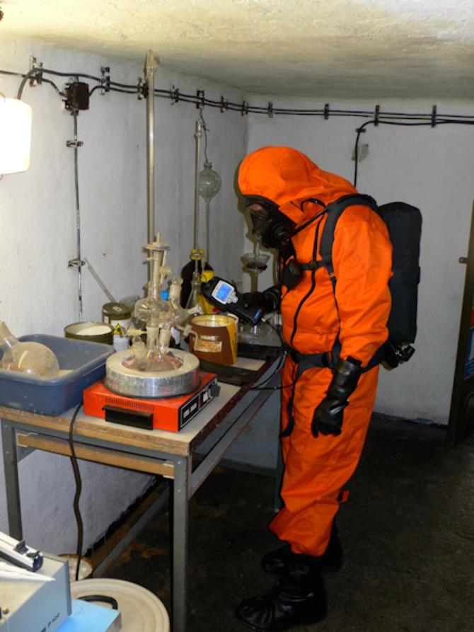 Terrorist Chem Labaratory