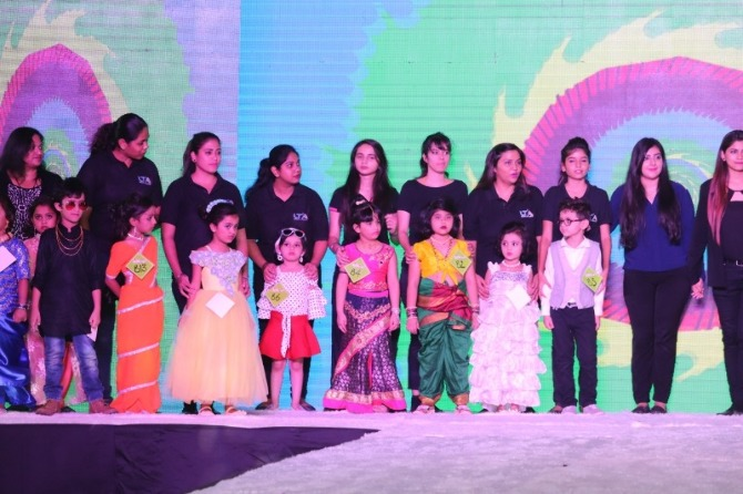 participants of the Kiddies Fashion Show